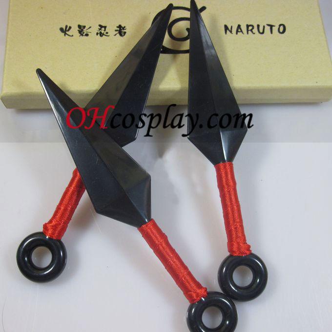 Naruto Cosplay Accessories Kunai Knife 3 Set