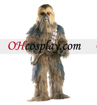 Star Wars chewbacca Collector's Edition 성인 의상