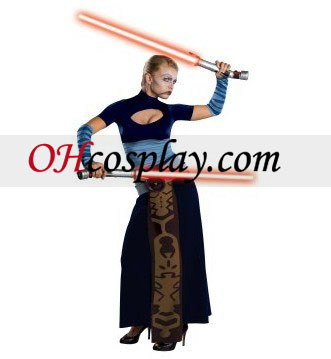 Star Wars Clone Wars Asajj Ventress Adulto fantasia