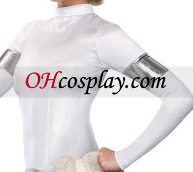 מלחמת הכוכבים amidala jumpsuit תלבושות למבוגרים
