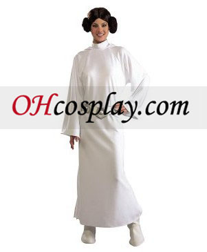 Star Wars Princess Leia Deluxe Adult Cosplay Halloween Costume Buy Online