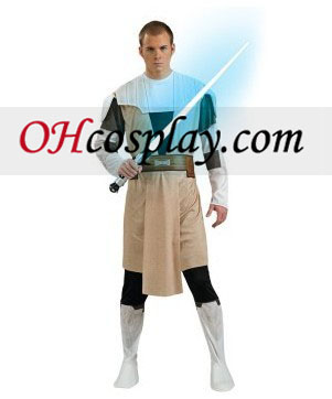 Star Wars Animated Obi Wan Kenobi Adult Costume
