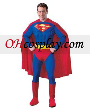 Ο Superman Deluxe Costume Ενηλίκων