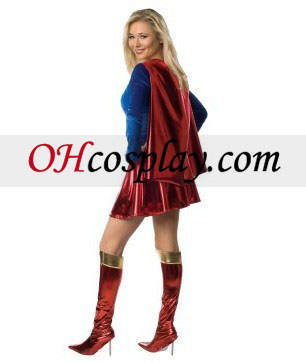 1 adult deluxe piece supergirl