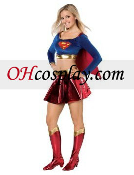 DC Comics Supergirl Teen Kostym