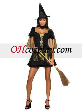 Wizard of Oz Sexy Wicked Witch of alike West Adult Costume