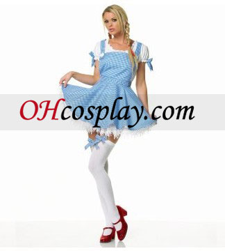 Wizard of Oz Dorothy Apron Dress Adult Cosplay Halloween Costume Buy Online