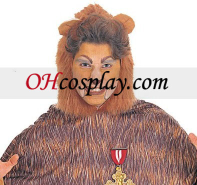 The Wizard of Oz Cowardly Lion Adult Kostume
