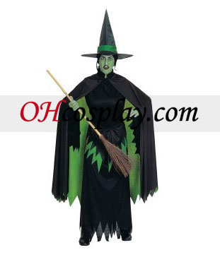 Trollkarlen från Oz Wicked Witch Adult kostym