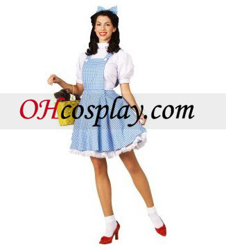 The Wizard of Oz Dorothy Adult Kostume