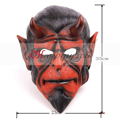 Hellboy PVC Cosplay Mask - Premium Edition