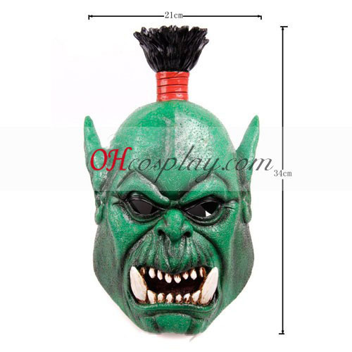 WarCraft Orc Costume Carnaval Cosplay Masque - Premium Edition