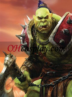 warcraft orc קוספליי המסכה - Premium Edition