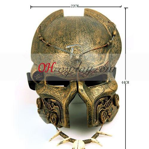 Predator Máscara Deluxe Cosplay - Edição Premium