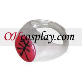 Naruto Cosplay Accessories Akatsuki Itachi Uchiha Shu (Scarlet) Ring