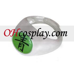 Naruto udklædning Tilbehør Akatsuki Deidara Sei (Blue-Green) Ring