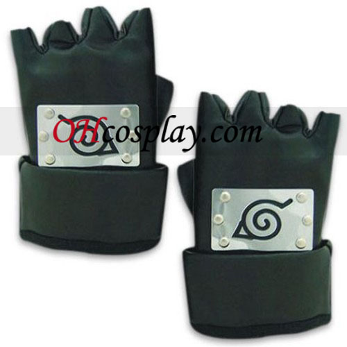 Naruto Cosplay Accessories Ninja Leaf Village Gloves