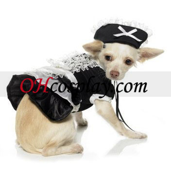 Traje Maid Dog Francês