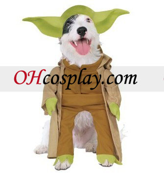 star wars yoda hund kostyme. Black Bedroom Furniture Sets. Home Design Ideas