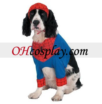 Spider-Man Comic Dog Kostüm