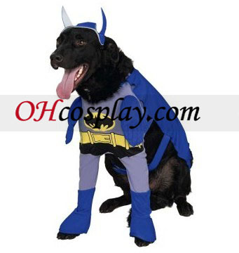 Batman Brave & Bold Batman Dog Kostym