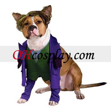 Batman Dark Knight The Joker Dog Costume