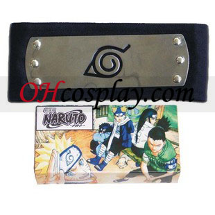 Naruto Cosplay Accessories Leaf Village HeadBand