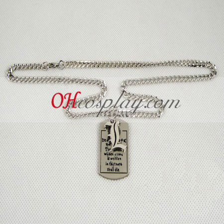Death note necklace