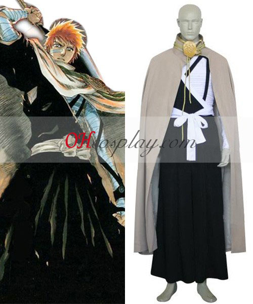 Bleach Kurosaki Ichigo Execution Ground Cosplay Costume Australia