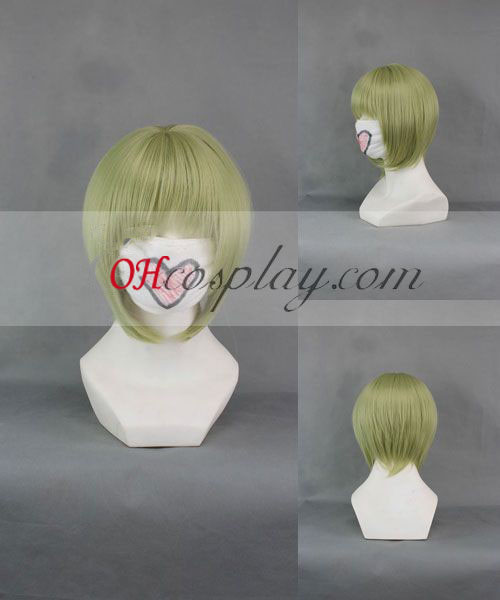 TIGER & BUNNY DRAGON KID Light Green Cosplay Wig