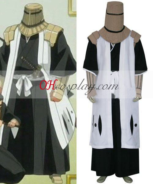 Bleach 7th Division Captain Komamura Sajin Cosplay Kostüm