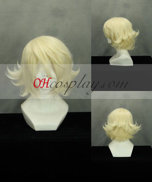 TIGER & BUNNY Origami Cyclone Yellow Cosplay Wig