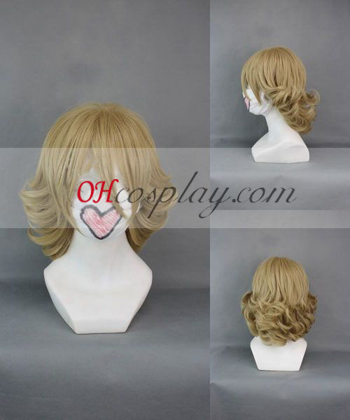 TIGER & BUNNY Barnaby·Brooks JR Yellow Cosplay Wig