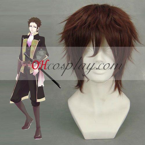 МИР MAKER Yamazaki Susumu Brwon Cosplay Wig