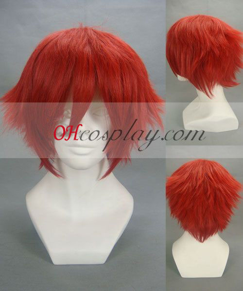 Inazuma Eleven Guran Red udklædning Paryk