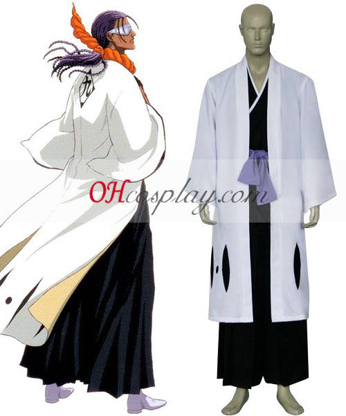 Bleach 9th Division Captain Tousen Kaname Cosplay Costume