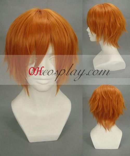 Togainu № общата си физическа подготовка Yukihito оранжев Cosplay Wig