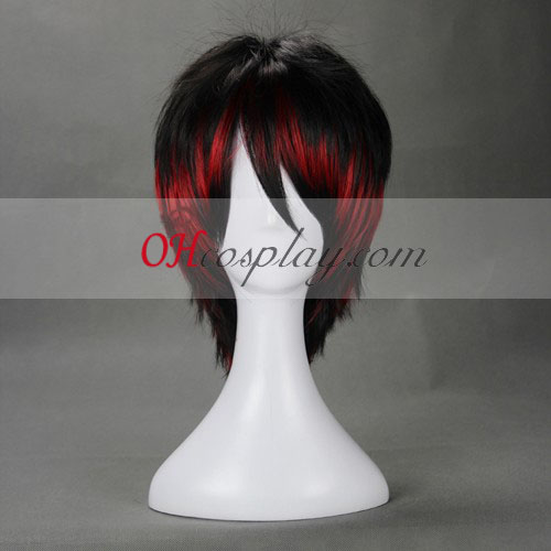 Japan Harajuku Lovers Serie Zwarte Cosplay Wig
