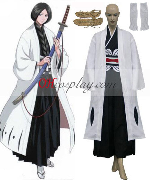 Bleach 4th Division Captain Unohana Retsu Cosplay Kostüm