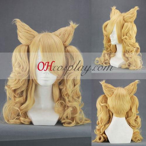 Otome Yokai Zakuro Bonbori και Hozuki Κίτρινο Cosplay Wig
