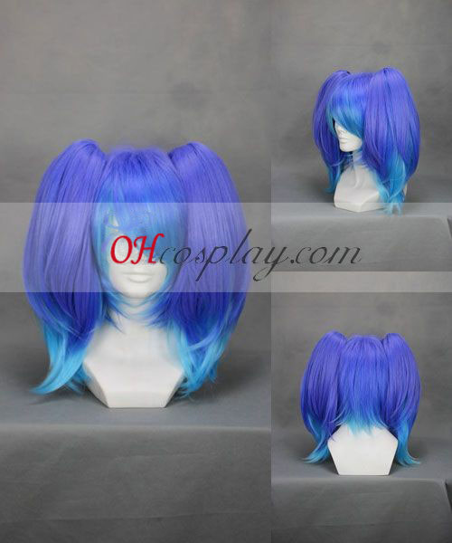 ANTI THE HOLiC Yokune Ruko Purple&Blue Cosplay Wig