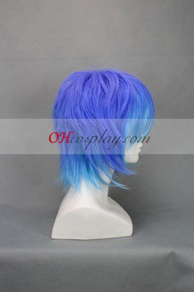 סגול כחול&אנטי את holic ruuku קוספליי פאה