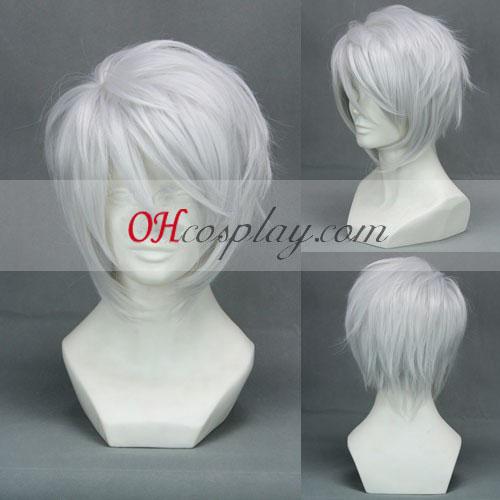 Hiiro no Kakera Komura Yuuichi peluca blanca cosplay