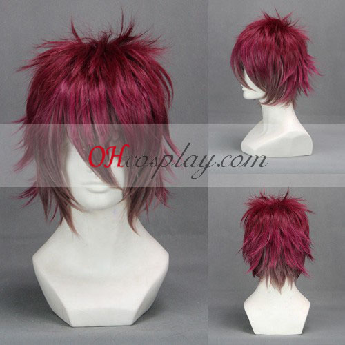 Diabolik Lovers Wine Red Cosplay peruk