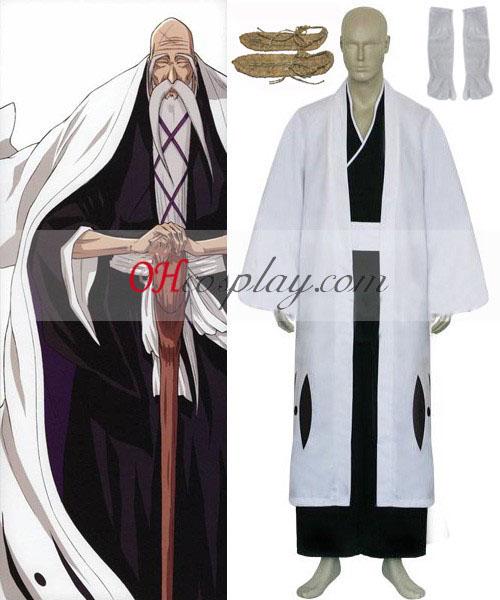 BBleach 1st Division Kapten Yamamoto Genryusai Shigekuni Cosplay Kostym