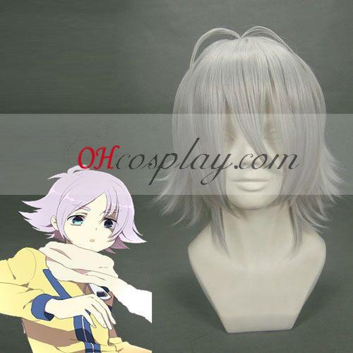 Inazuma Eleven Cosplay parrucca nastro bianco