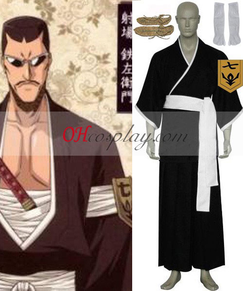 Bleach 7th Division Lieutenant Iba Tetsuzaemon Cosplay Costume