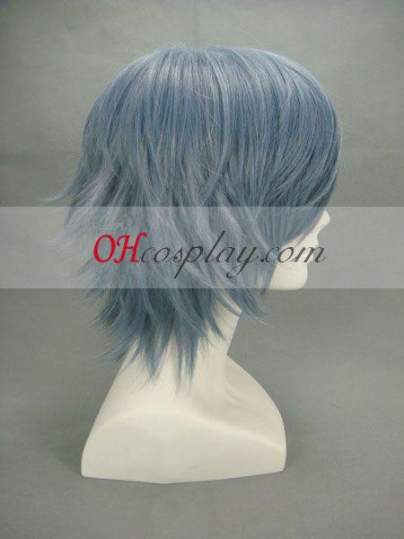 Togainu ingen Chi Akira Blålig Grey udklædning Paryk