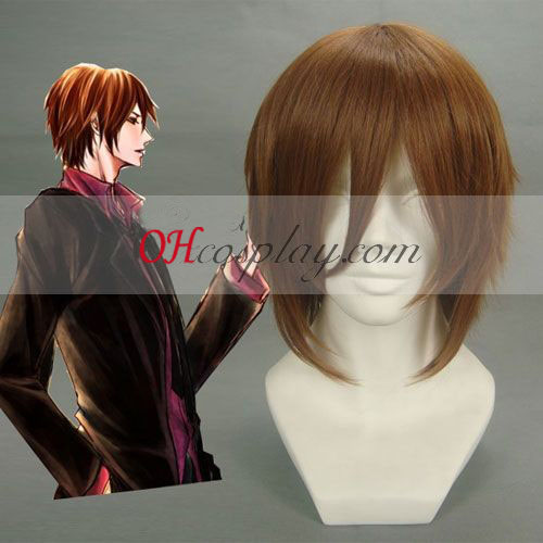 The Note Of Ghoul Malus spectabilis Dark Brown Cosplay Wig