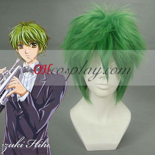 A Primo passo Kazuki Hihara Cosplay peruca Verde